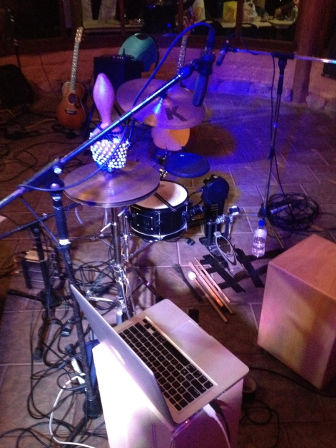E-roots percussion setup