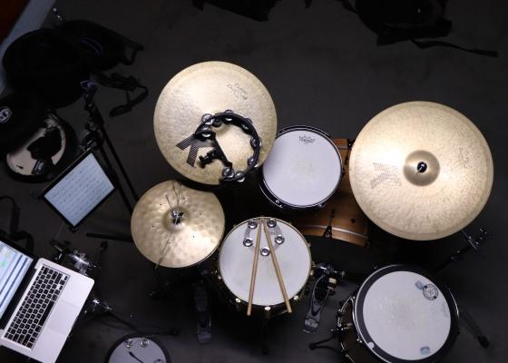 Evetts drumkit, drum lessons, hip hop, neo soul, drum transcription